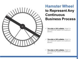 Hamster Wheel To Represent Any Continuous Business Process
