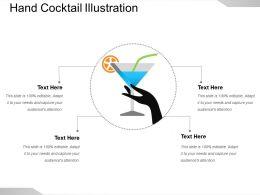 Hand Cocktail Illustration