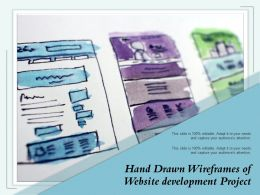 Hand Drawn Wireframes Of Website Development Project
