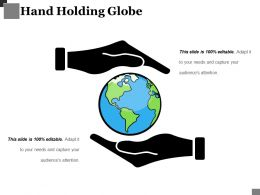 Hand Holding Globe Powerpoint Slide Presentation Tips