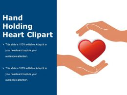 Hand Holding Heart Clipart Powerpoint Slide Show