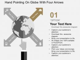 hand_pointing_on_globe_with_four_arrows_flat_powerpoint_design_Slide02