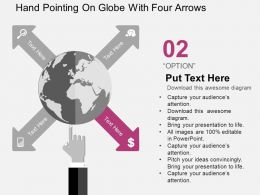 hand_pointing_on_globe_with_four_arrows_flat_powerpoint_design_Slide03