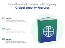 Handbook Of Insurance Company Global Security Features