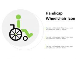 Handicap Wheelchair Icon