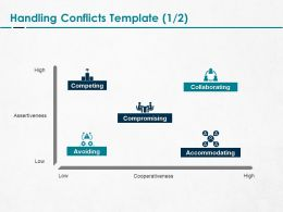 Handling Conflicts Collaborating Ppt Powerpoint Presentation Slides