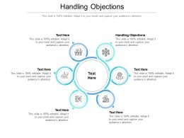 Handling Objections Ppt Powerpoint Presentation Styles Outline Cpb