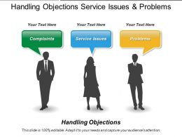 Handling Objections Service Issues And Problems