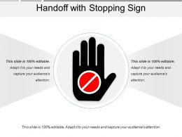 Handoff With Stopping Sign
