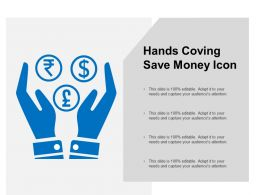 Hands Coving Save Money Icon