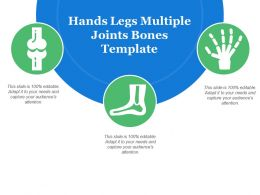 Hands Legs Multiple Joints Bones Template
