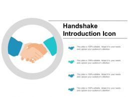 Handshake Introduction Icon