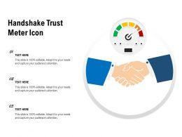 Handshake Trust Meter Icon