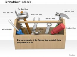 Handy Tool Box To Carry Tools For Repair And Service