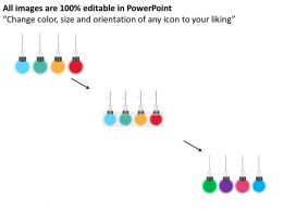 hanging_clips_for_swot_analysis_flat_powerpoint_design_Slide02