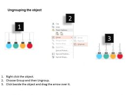 hanging_clips_for_swot_analysis_flat_powerpoint_design_Slide03