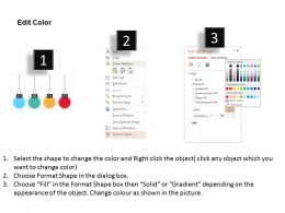 hanging_clips_for_swot_analysis_flat_powerpoint_design_Slide04
