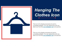 Hanging The Clothes Icon