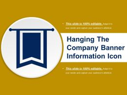 Hanging The Company Banner Information Icon