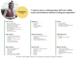 Hannah Student Ppt Powerpoint Presentation Summary Clipart Images