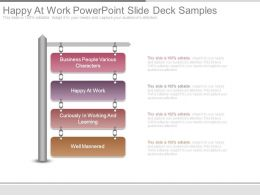 Happy At Work Powerpoint Slide Deck Samples