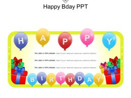 Happy Bday Ppt