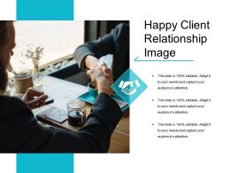 Happy Client Relationship Image