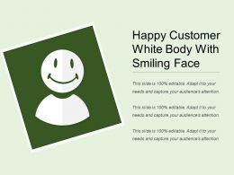 Happy Customer White Body With Smiling Face