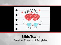 Happy Family Powerpoint Templates Ppt Backgrounds For Slides 0113