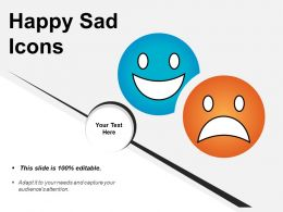 Happy Sad Icons