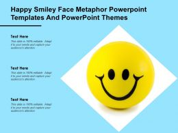 Happy Smiley Face Metaphor Powerpoint Templates And Powerpoint Themes
