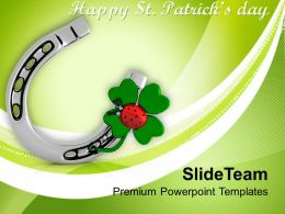 happy_st_patricks_day_shamrock_with_lucky_symbol_templates_ppt_backgrounds_for_slides_Slide01