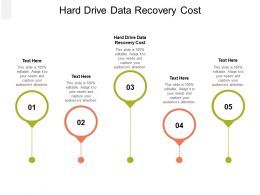 Hard Drive Data Recovery Cost Ppt Powerpoint Presentation Professional Visuals Cpb