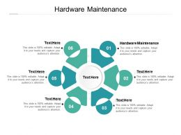Hardware Maintenance Ppt Powerpoint Presentation Pictures Master Slide Cpb