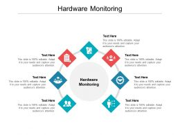 Hardware Monitoring Ppt Powerpoint Presentation Show Cpb