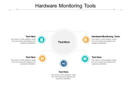 Hardware Monitoring Tools Ppt Powerpoint Presentation Styles Ideas Cpb