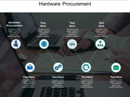 Hardware Procurement Ppt Powerpoint Presentation Slides Deck Cpb