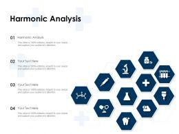 Harmonic Analysis Ppt Powerpoint Presentation Slides Background Designs