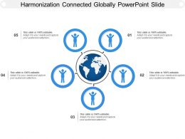 Harmonization Connected Globally