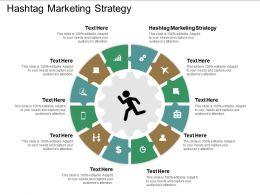 Hashtag Marketing Strategy Ppt Powerpoint Presentation Summary Demonstration Cpb