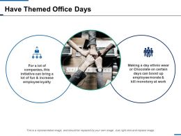 Have Themed Office Days Business Ppt Inspiration Influencers