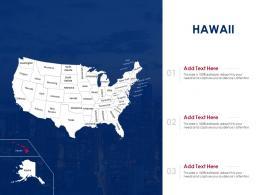 Hawaii Map Powerpoint Presentation PPT Template
