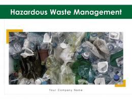 Hazardous Waste Management Powerpoint Presentation Slides