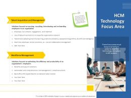 HCM Technology Focus Area Labor Market Ppt Powerpoint Presentation Styles Gallery