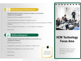 HCM Technology Focus Area Real Algorithms Ppt Powerpoint Presentation Layouts Graphics
