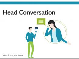 Head Conversation Communication Business Growth Customer Feedback Discussion