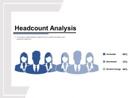 Headcount Analysis