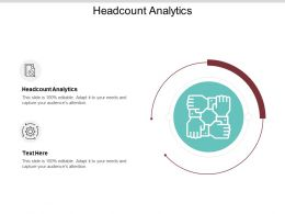 Headcount Analytics Ppt Powerpoint Presentation Icon Brochure Cpb