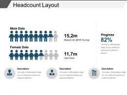 Headcount Layout