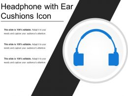 Headphone With Ear Cushions Icon